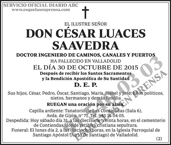 César Luaces Saavedra